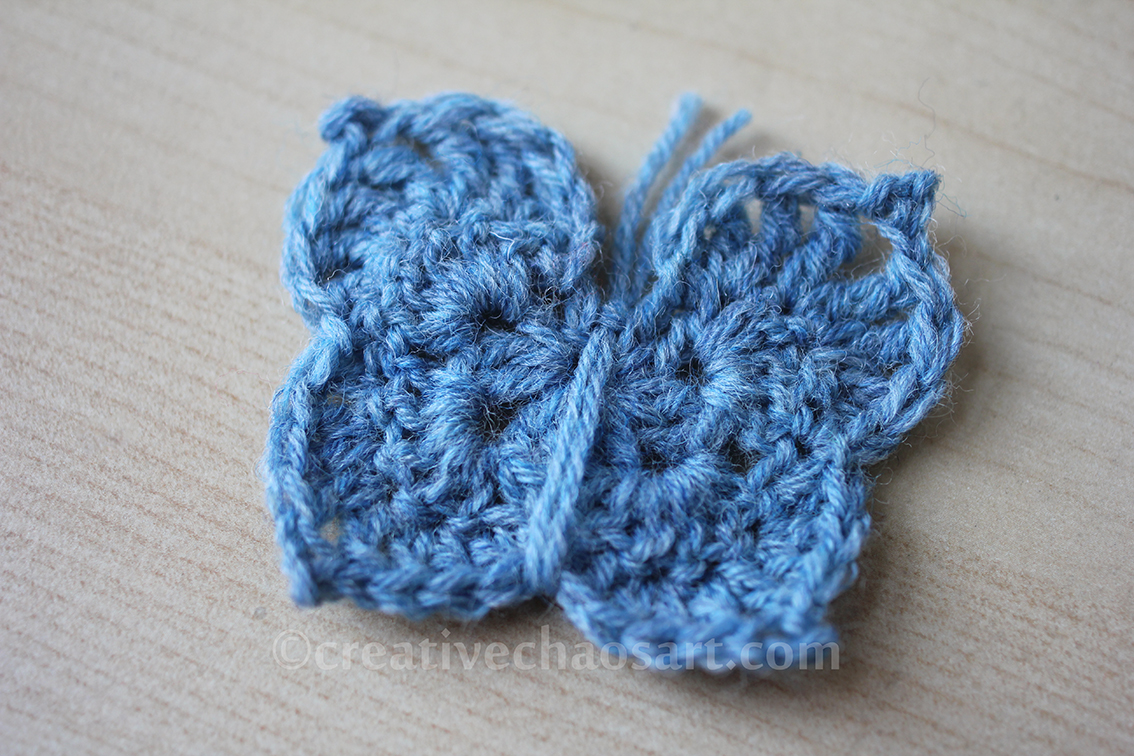 Tried and Tested Tip Number 26 [2D Crochet Butterfly]
